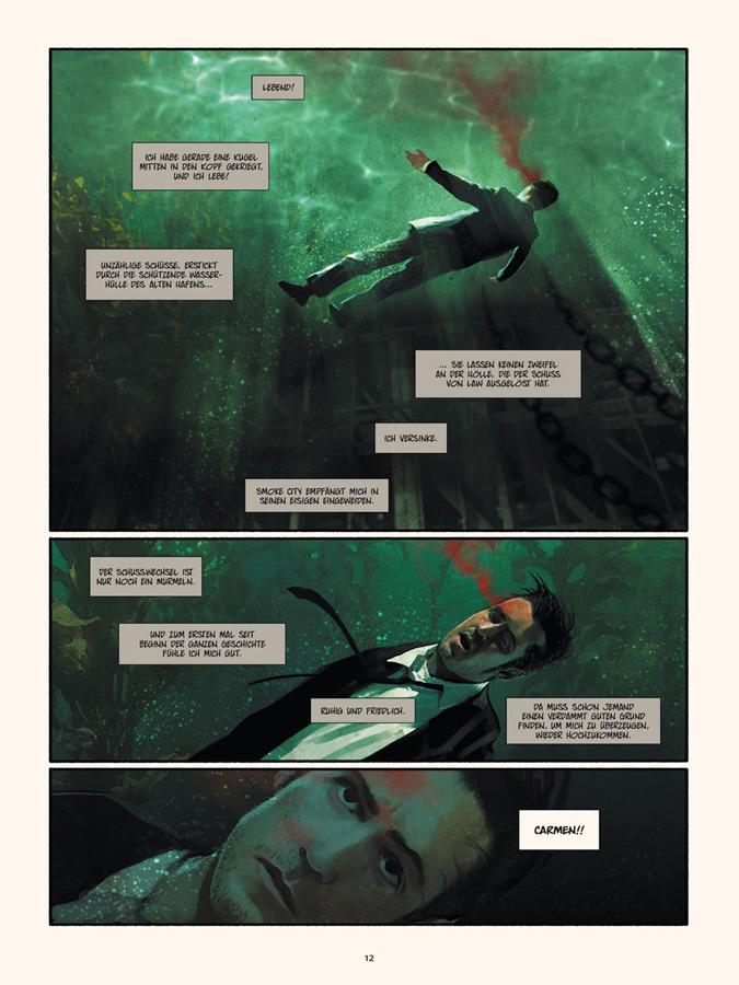 Seite aus Smoke City 2