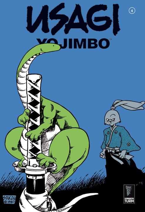 Usagi Yojimbo 4