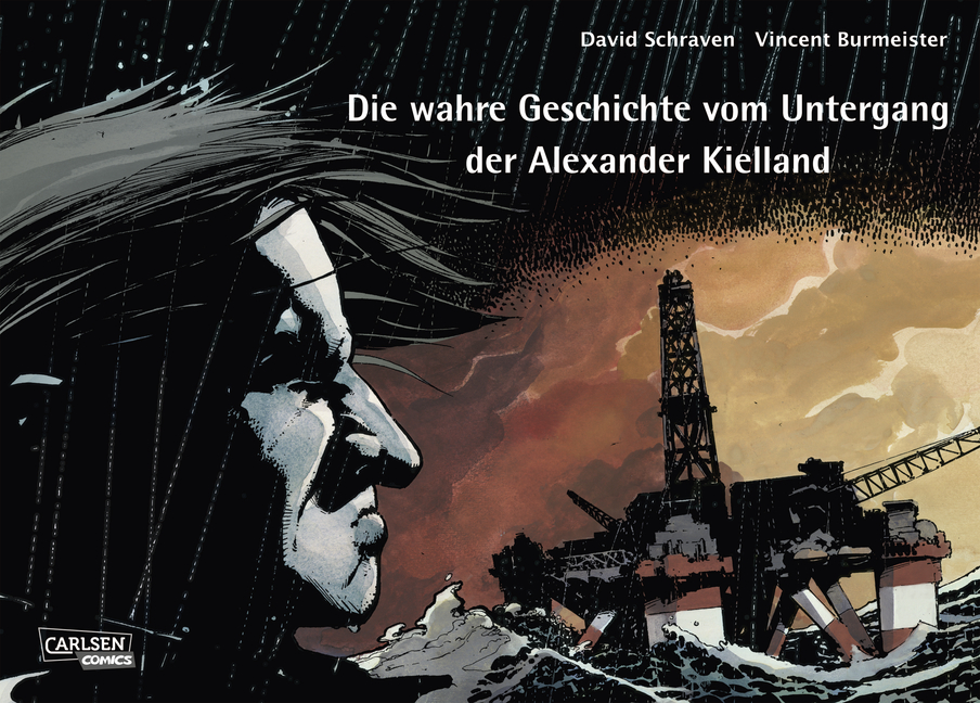 Cover Die wahre Geschichte vom Untergang der Alexander Kielland