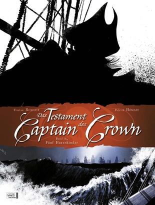 Cover Das  Testament des Captain Crown 1