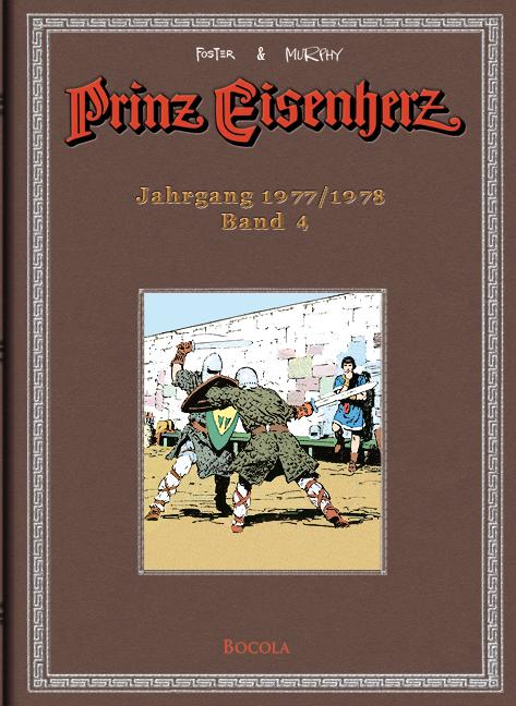 Cover Prinz Eisenherz: Foster & Murphy-Jahre 4