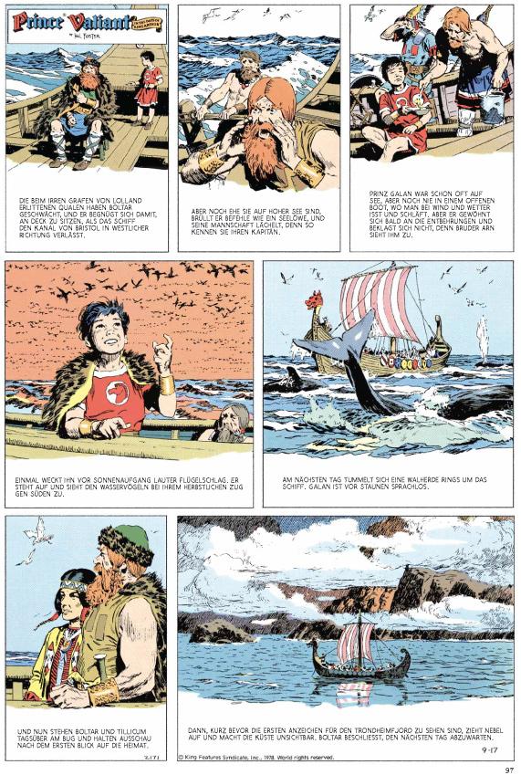 Seite aus Prinz Eisenherz: Foster & Murphy-Jahre 4