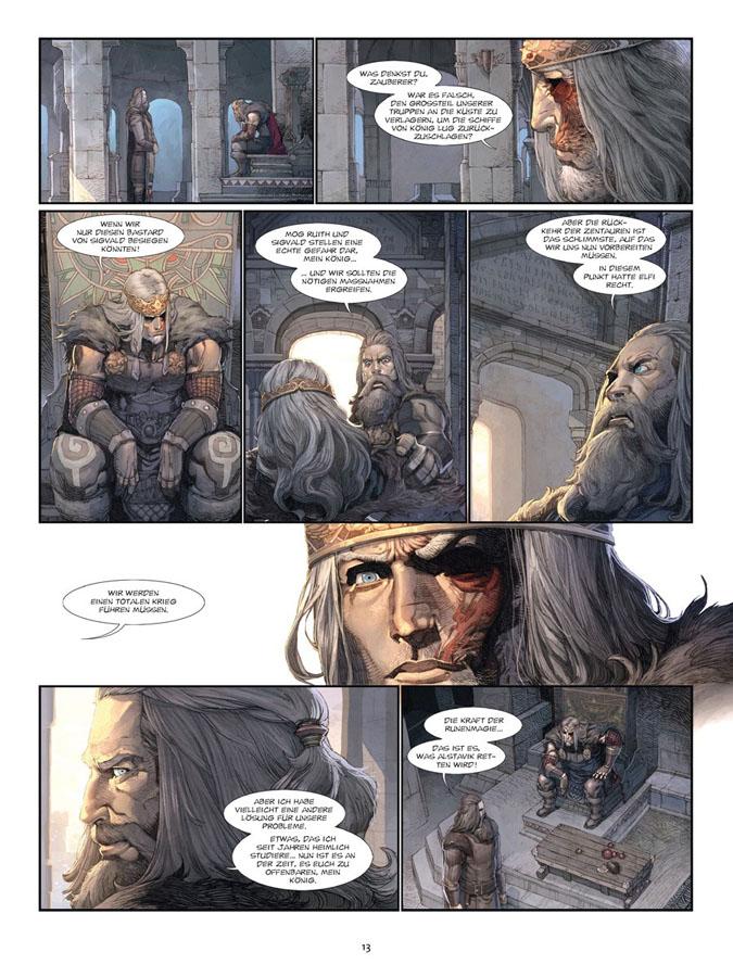 Seite aus Konungar 1