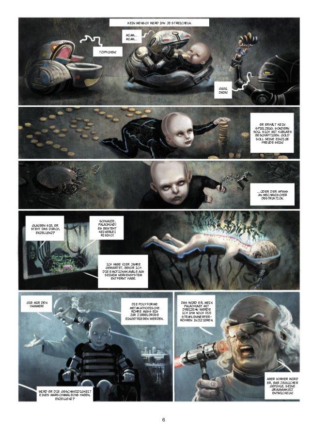Seite aus Showman Killer 1