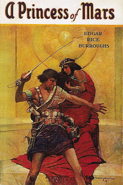 Buchcover A Princess of Mars (1917)