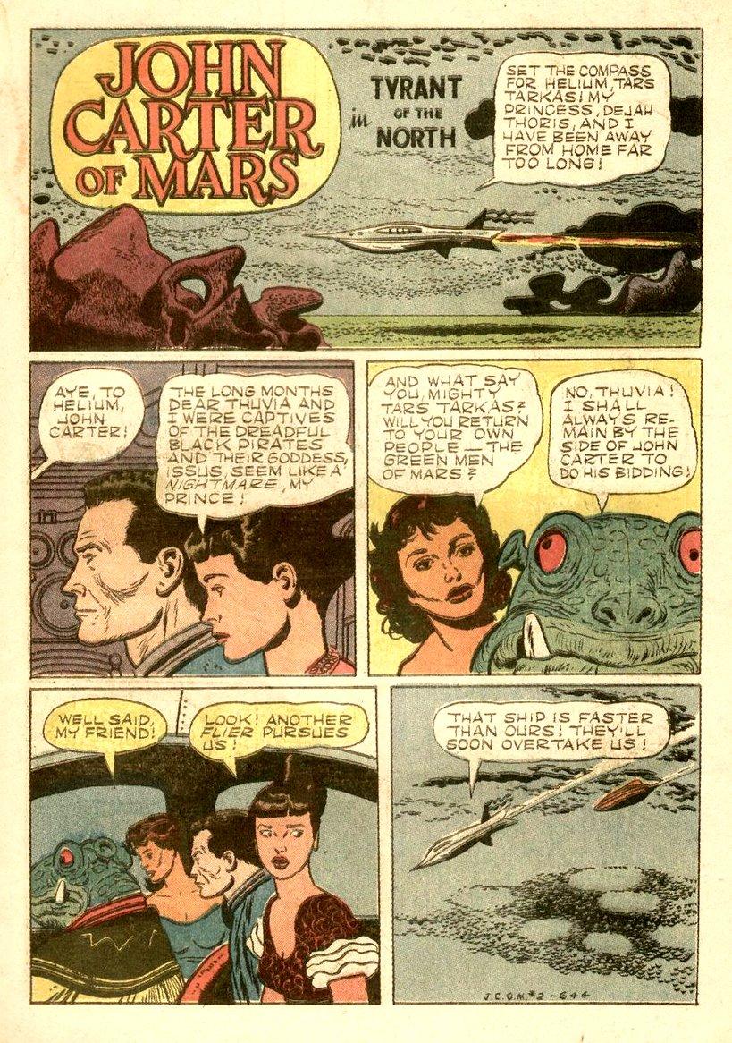 Seite aus Dell-Comic von Jesse Marsh (1952)