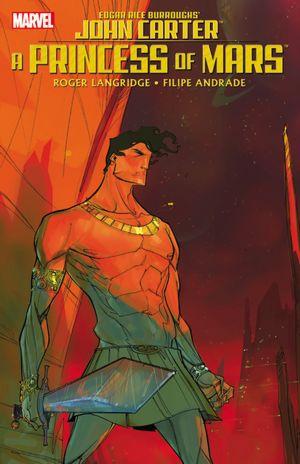 Cover des Sammelbands A Princess of Mars (Marvel, 2011)