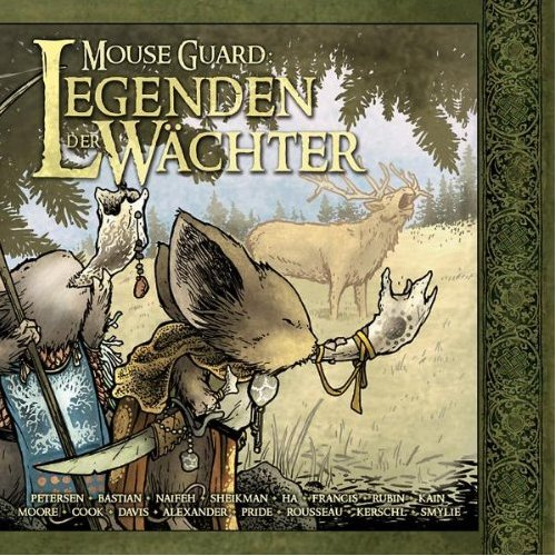 Cover Mouse Guard: Legenden der Wächter 1