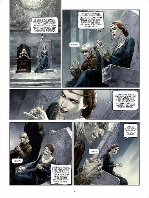 Seite aus Sang Royal 2