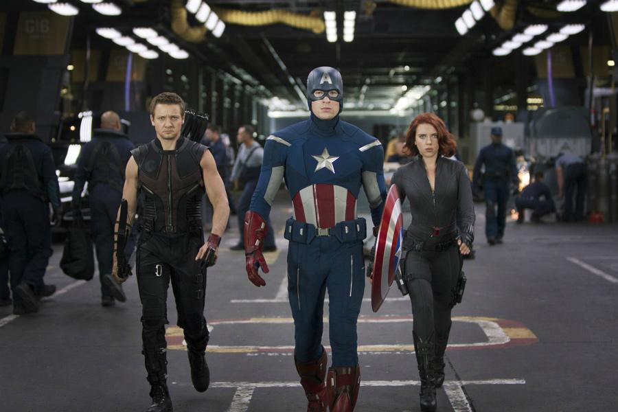 Szene aus The Avengers