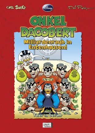 Cover Onkel Dagobert: Milliardenraub in Entenhausen