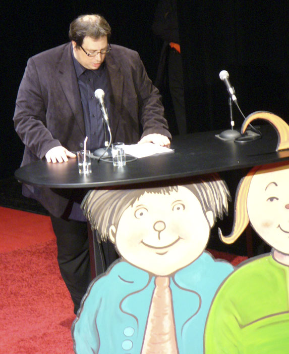 Bodo Birk beim Max-und-Moritz-Preis 2010
