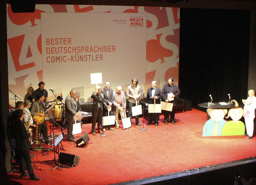 Die Jury des Max-und-Moritz-Preises 2010
