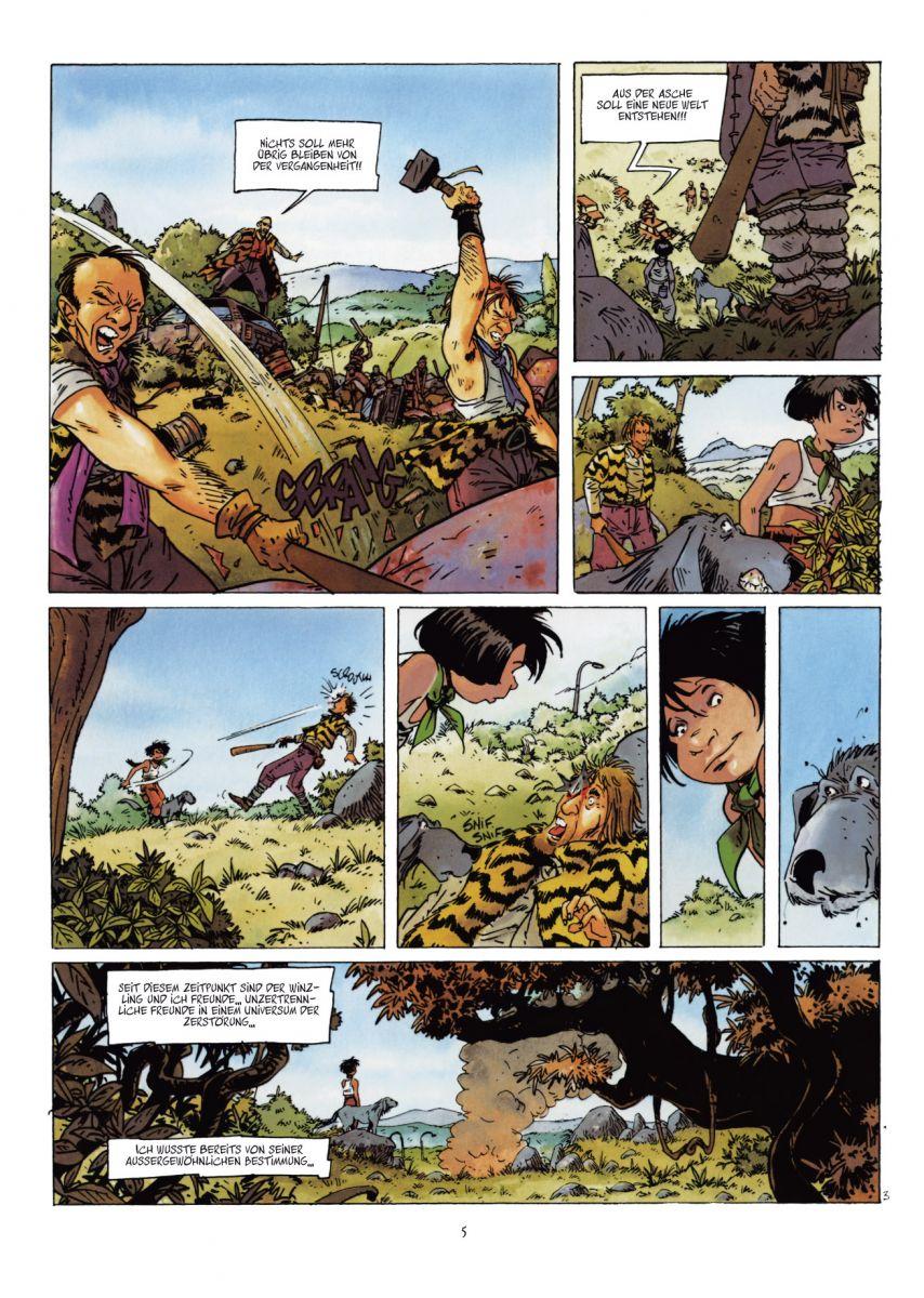 Seite aus Winzling 1