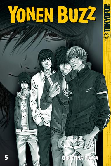 Das Cover von Yonen Buzz 5
