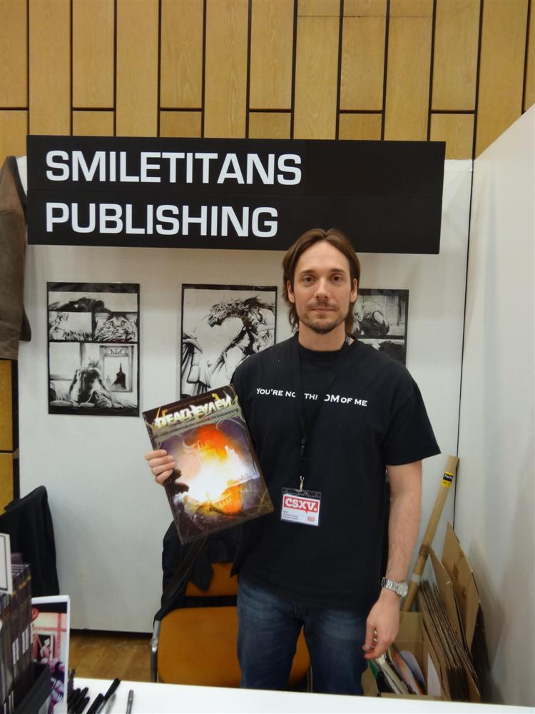 Christopher Steininger mit DeadHeaven auf dem Comic-Salon 2012