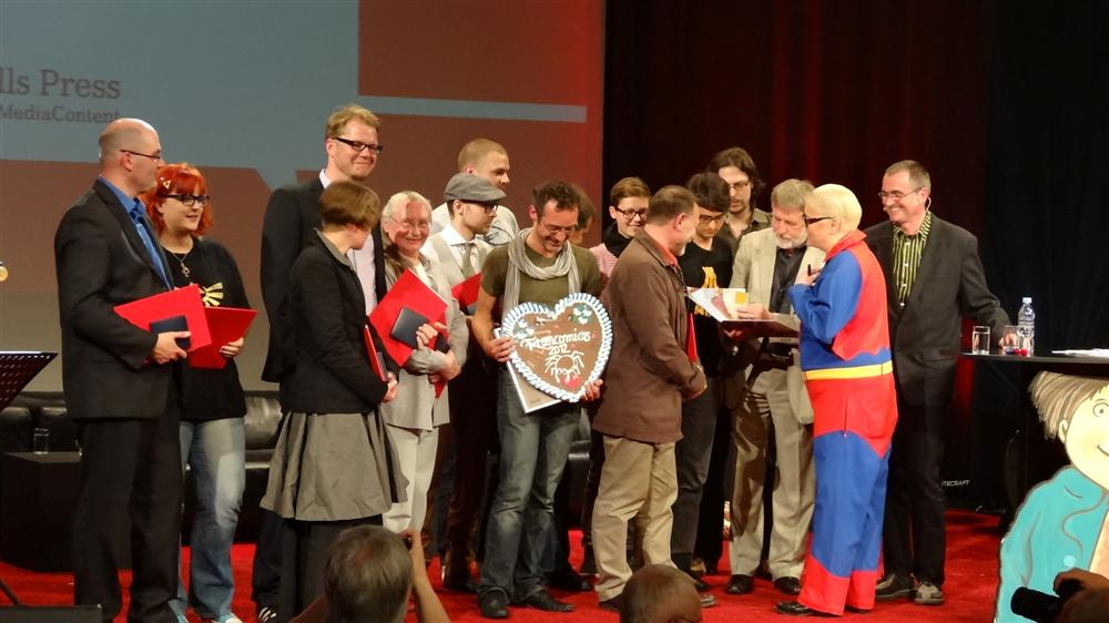 Alle Gewinner der Max-undMoritz-Preise auf dem Comic-Salon 2012
