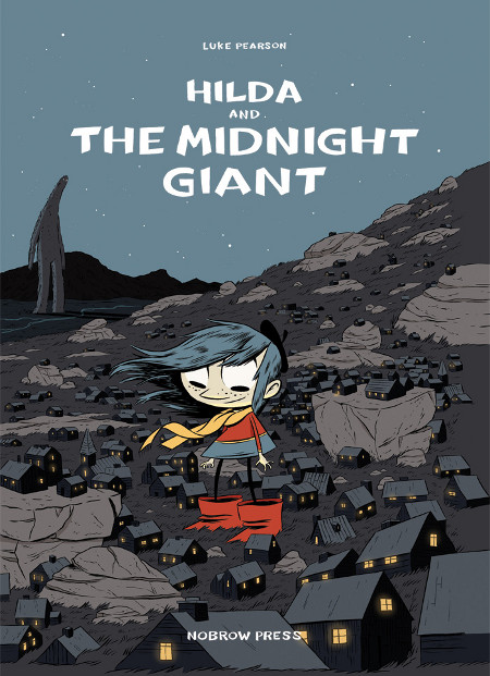Cover Hilda and the Midnight Giant