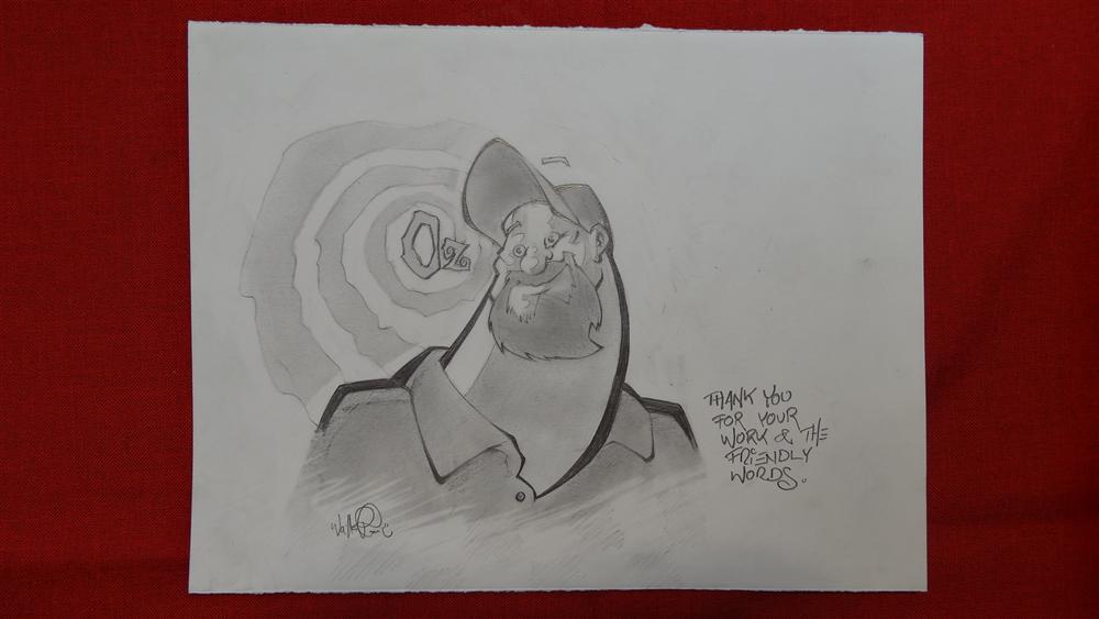 Skottie Young von WalterPfau gezeichnet, Comic-Salon 2012