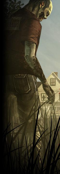 Zombis aus dem Spiel zu The Walking Dead
