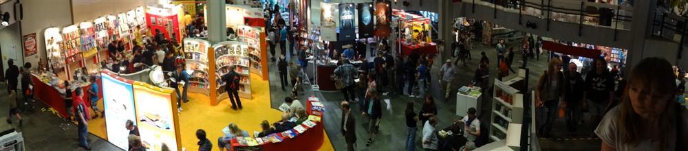 Blick auf Teile des Comic-Salons 2012