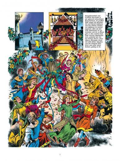 Seite aus Roland, Ritter Ungestüm 4