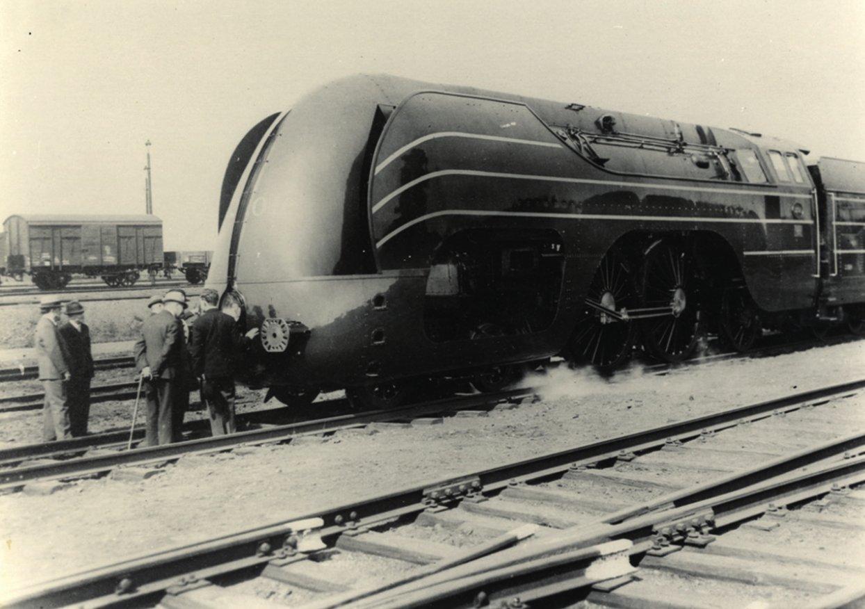 Die belgische Dampflokomotive 12.004