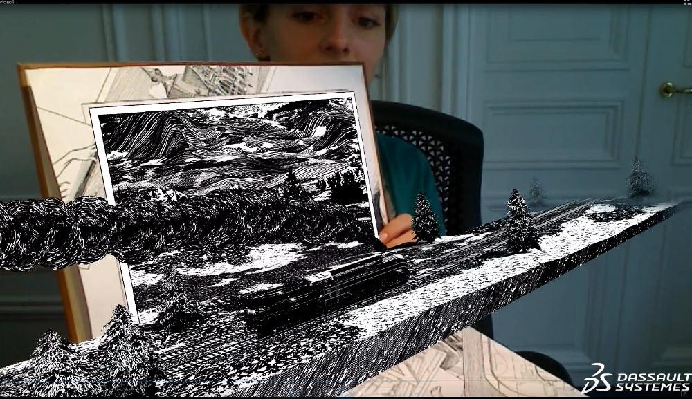 3D-Anwendung zu Atlantic 12 von Dassault Systèmes