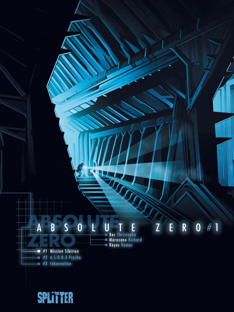 Cover Absolute Zero 1