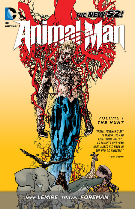 COver Animal Man Vol. 1