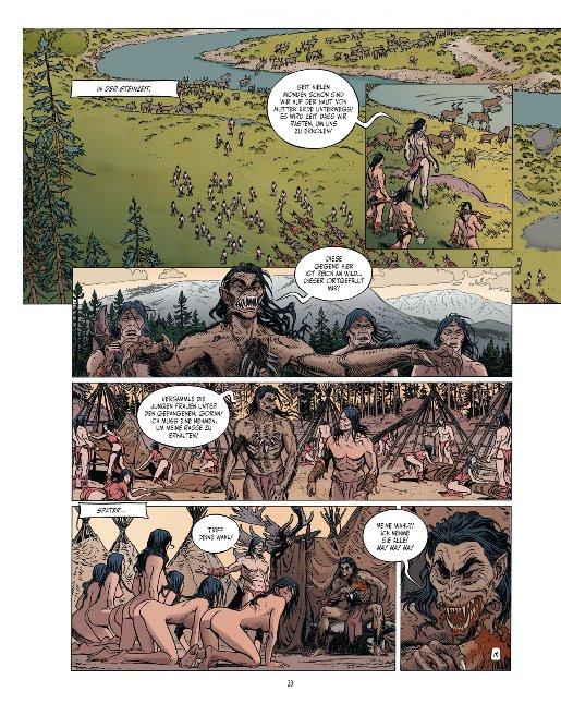 Seite aus Touna Mara 2