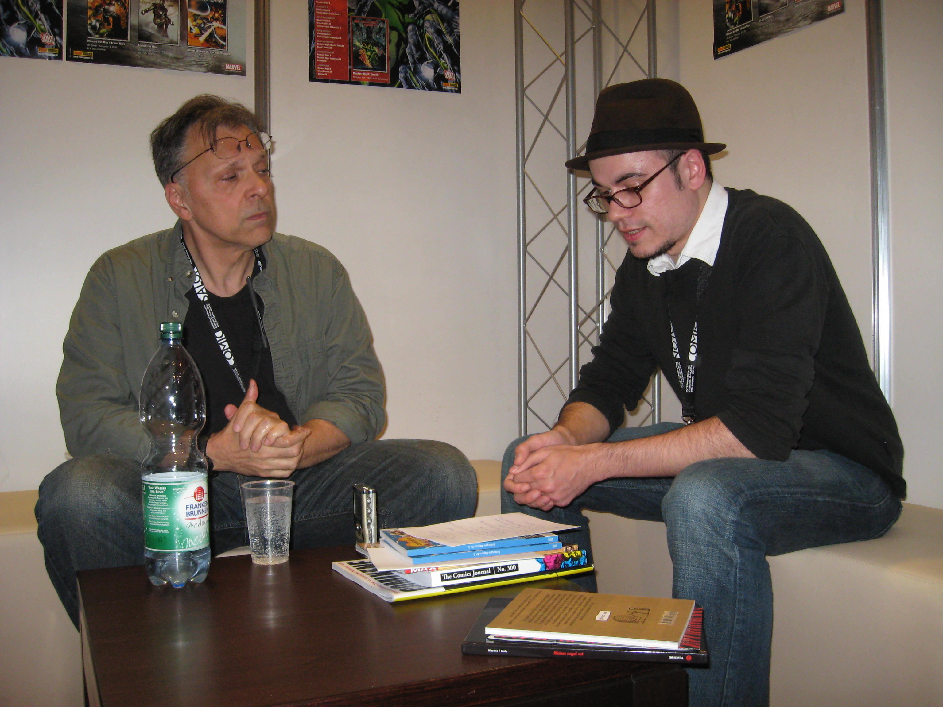 Howard Chaykin, Marc-Oliver Frisch