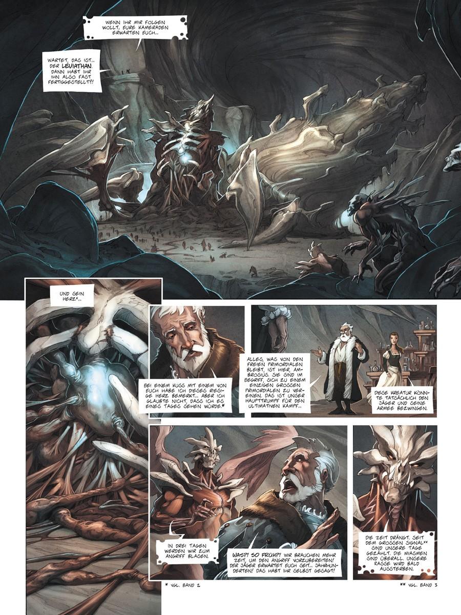 Seite aus Das Einhorn 4