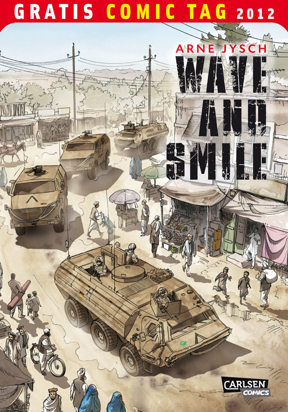 Cover der Wave and Smile-Ausgabe zum Gratis-Comic-Tag