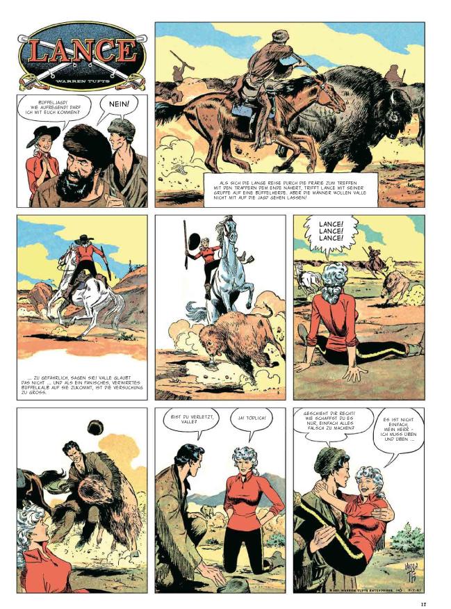 Seite aus Lance 3