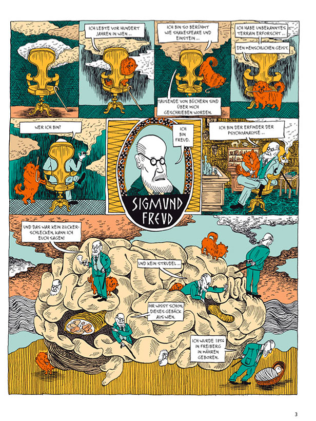 Seite aus Freud