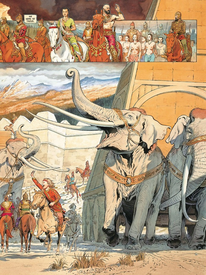 Seite aus Reconquista 1