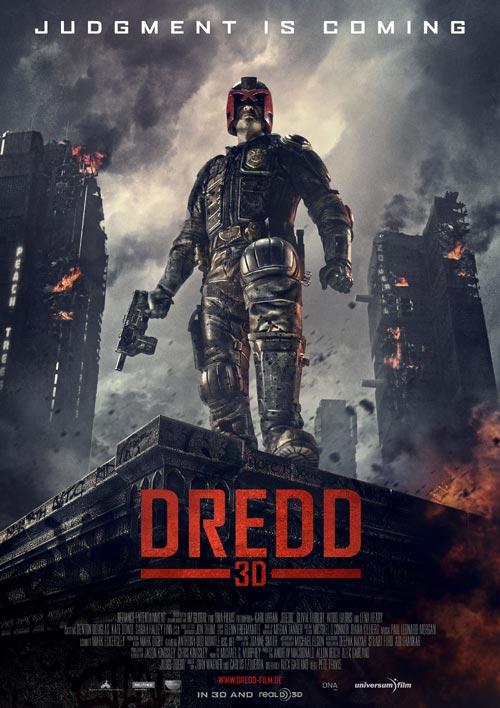 Dredd 3D Filmplakat