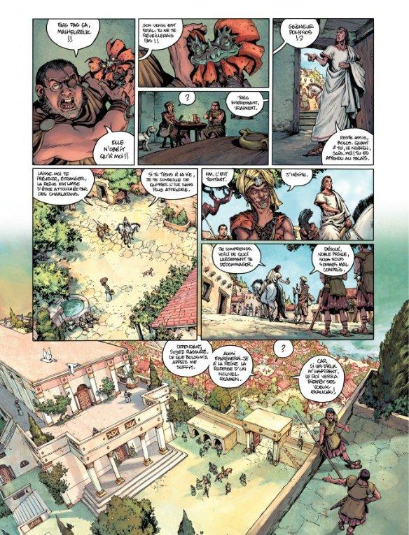 Seite aus Golias 1