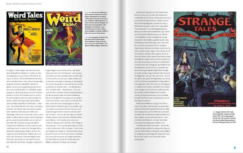 Seite aus Zombies – Die illustrierte Geschichte der Untoten