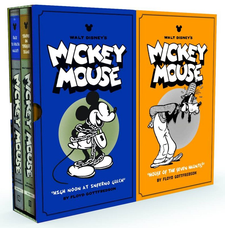 Mickey Mouse by Floyd Gottfredson Vol. 3 + 4