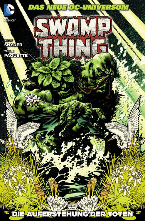 Cover Swamp Thing 1
