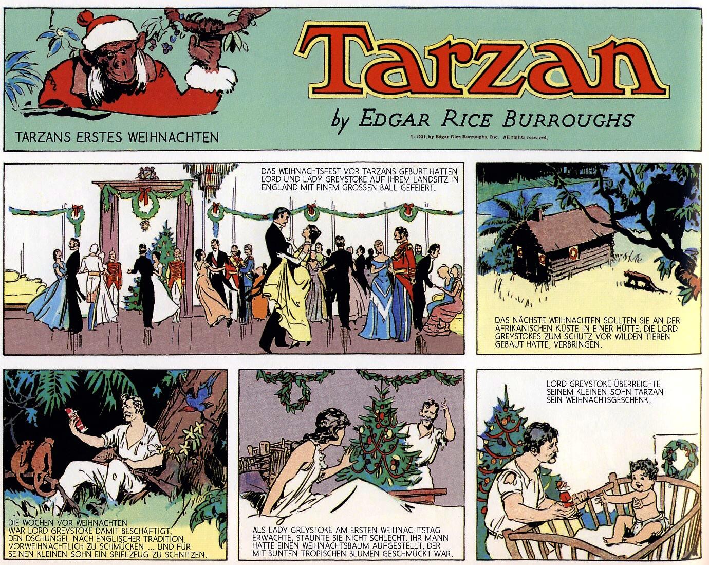 Tarzans erstes Weihnachten