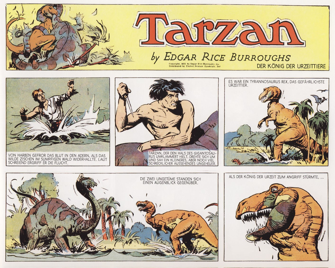 Tarzan in Aktion