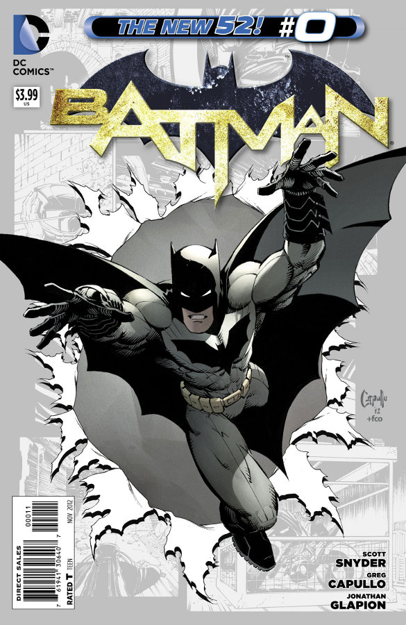 Cover Batman Vol. 2 #0 by Greg Capullo