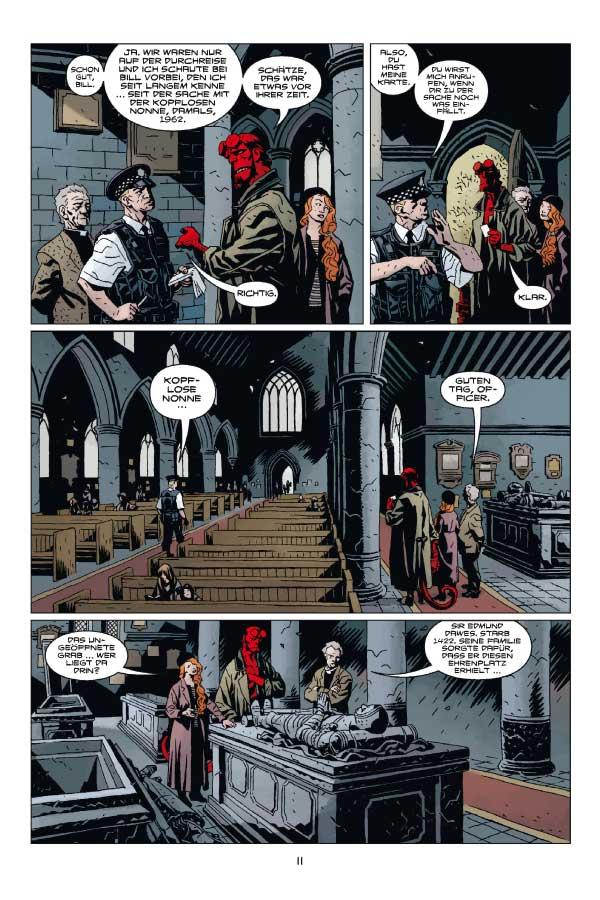Seite aus Hellboy 12