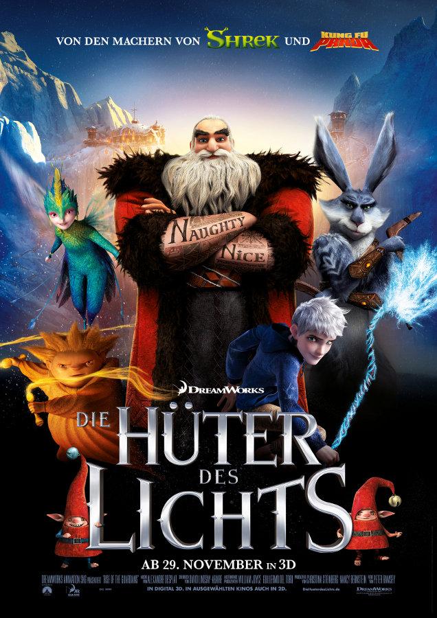 Filmplakat Die Hüter des Lichts