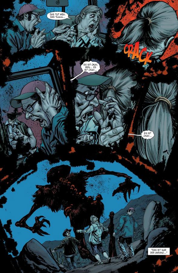 Seite aus Swamp Thing 1