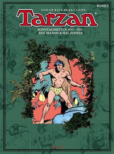 Cover Tarzan Sonntagsseiten 1