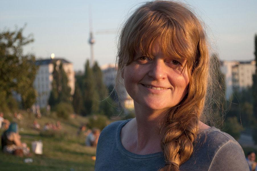 Susanne Buddenberg, fotografiert von Anna Schmelz